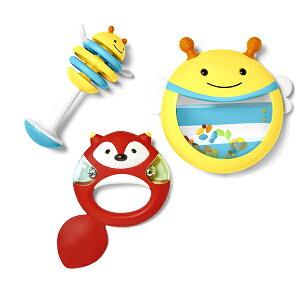 SKIP HOP スキップホップ ミュージックセット   プレゼント ギフト 赤ちゃん ベビー キッズ 子ども 誕生日 0歳 1歳 楽器 音 マラカス ガラガラ ドラム タンバリン おしゃれ かわいい おもちゃ