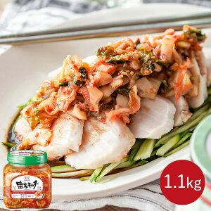 韓国No.1キムチ 韓国 キムチ 送料無料 おつまみ ご飯のお供 ご飯のおとも チョンガ 韓国キムチ 宗家 1.1kg × 1個 デサンジャパン 韓国食品 公式