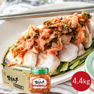 韓国No.1キムチ 韓国 キムチ 送料無料 おつまみ ご飯のお供 ご飯のおとも チョンガ 韓国キムチ 宗家 1.1kg × 4個 デサンジャパン 韓国食品 公式