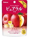 【カバヤ食品】100円 ピュアラルグミ〈りんご〉(8袋入)