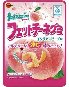 【ブルボン】100円 フェットチーネグミ〈イタリアンピーチ味〉(10袋入)