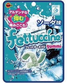 【ブルボン】100円 フェットチーネグミ〈ソーダ味〉(10袋入)