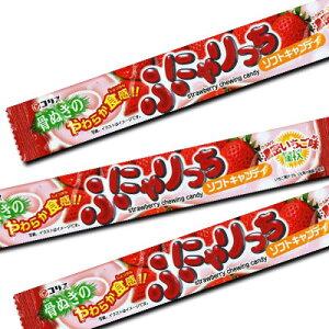【コリス】50円 ふにゃりっちソフトキャンディ 濃密いちご味(20袋入)   {だがし 駄菓子屋 業務用 まとめ買い}