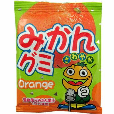 【やおきん】30円 みかんグミ(30袋入)   {駄菓子屋 だがし 業務用 まとめ買い}