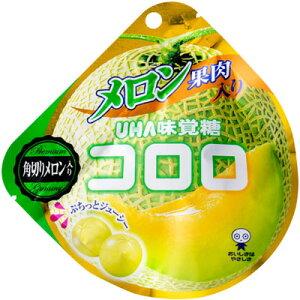 【UHA味覚糖】130円 コロロ メロン40g(6袋入)
