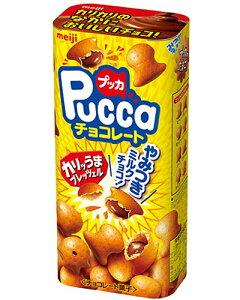 【明治】100円 プッカチョコレート43g(10個入)
