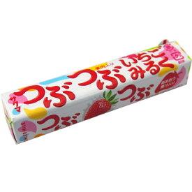 【サクマ製菓】100円 つぶつぶ いちごみるく10粒(10個入)   {飴 あめ キャンデー スティックキャンディ}