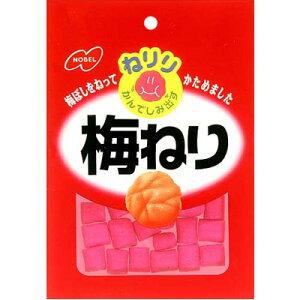 【ノーベル製菓】120円 ねりり 梅ねり20g(10袋入)