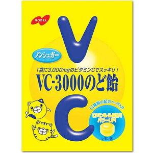 【ノーベル製菓】200円 VC-3000のど飴90g(6袋入)