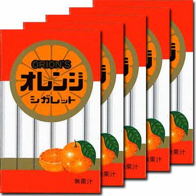 【オリオン】30円オレンジシガレット(30個入){駄菓子だがし屋おやつラムネ景品業務用まとめ買い}