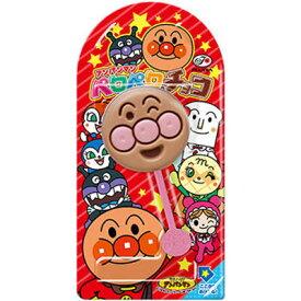 【不二家】80円 アンパンマンペロペロチョコ(12個入)     {チョコレート お菓子 棒付チョコ まとめ買い}