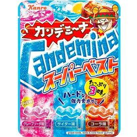 【カンロ】170円 カンデミーナ スーパーベスト72g(6袋入)