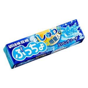 【UHA味覚糖】100円 ぷっちょスティック〈ストロングソーダ〉(10個入)