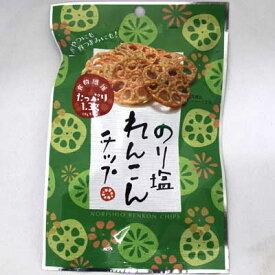 【壮関】150円 のり塩れんこんチップ18g(6袋入)