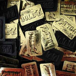 【ジャック】10円 ゴールドセブンチョコ(100個+当たり交換分)     {駄菓子 だがし屋 お菓子 チョコレート 当たり付 景品 まとめ買い}