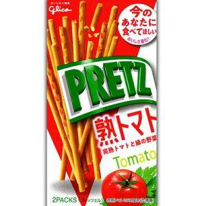 【グリコ】120円 プリッツ〈熟トマト〉(10個入)