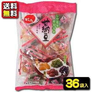 【送料無料】【でん六】350円 甘納豆テトラ235g(6袋入×6ケース)