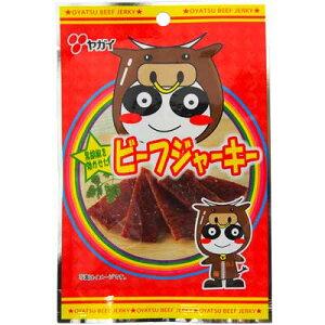 【ヤガイ】100円 ビーフジャーキー10g(10袋入)     {駄菓子 だがし おかし おつまみ 珍味 サラミ 小袋}