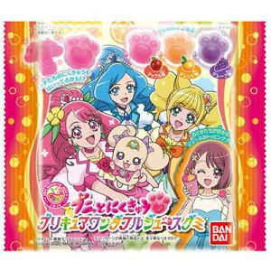 【バンダイキャンディ】100円 プニっとにくきゅう プリキュアワンダフルジュースグミ(12袋入)