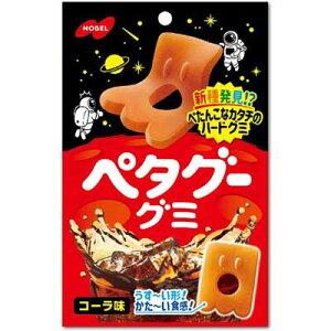 【ノーベル製菓】130円 ペタグーグミ〈コーラ味〉50g(6袋入)