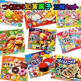 【作る知育菓子】お菓子を作ろう!知育菓子10種類セット第3弾 〜お子様の豊かな創造力を育てます〜  {クラシエ}