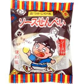 【やおきん】30円 復刻梅ソースせんべい(10袋入)