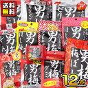 【送料無料】【ノーベル製菓】男梅シリーズ12点セット