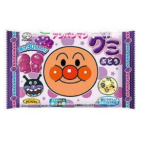 【不二家】70円 アンパンマングミ〈ぶどう味〉(20袋入)