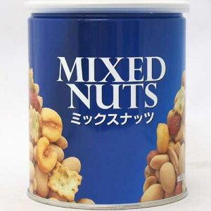 【懐かしのポット駄菓子】【タクマ食品】缶入りミックスナッツ194g