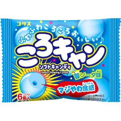 【コリス】30円ころキャン〈ソーダ味〉(20個入)