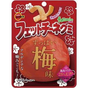 【ブルボン】100円 フェットチーネグミ〈すっぱい梅味〉(10袋入)