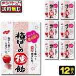 【ゆうパケット便】【送料無料】【ノーベル製菓】梅ぼしの種飴コンパクトパック20g×12袋