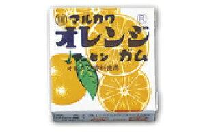 【丸川製菓】10円 オレンジマーブルガム(24個入)