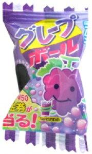 【駄菓子】10円 グレープボールラムネ(100個+当たり交換分)