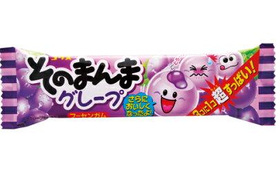 【コリス】30円そのまんまフーセンガム〈グレープ〉(20個入)