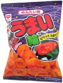 【リスカ】うまい輪75g〈めんたい味〉(12袋入)