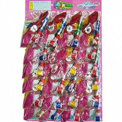 【景品玩具】 ふきもどし紙風船セット 24個(台紙付)