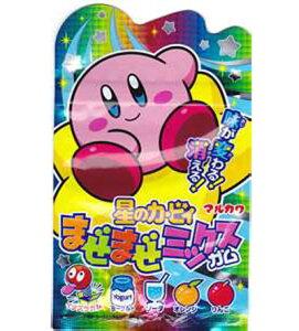 【丸川製菓】100円 星のカービィまぜまぜミックスガム(10個入)