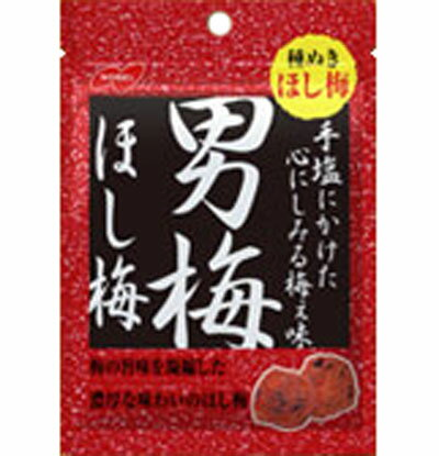 【ノーベル製菓】180円男梅ほし梅20g(6個入)