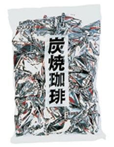 【春日市製菓】炭焼珈琲〈1kg〉    {徳用 大袋 業務用 つかみどり バラマキ 景品 キャンディ アメ あめ 飴}