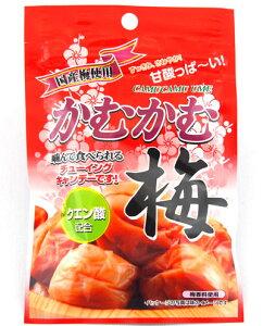 【明治チューインガム】120円 かむかむ 梅(10袋入)