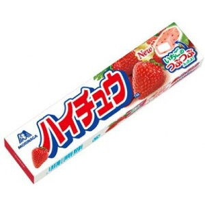 【森永製菓】100円 ハイチュウ〈ストロベリー〉(12個入)