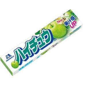 【森永製菓】100円 ハイチュウ〈グリーンアップル〉(12個入)