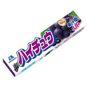 【森永製菓】100円 ハイチュウ〈グレープ〉(12個入)