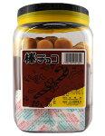 【懐かしのポット駄菓子】【カネ増製菓】棒チョコパン(20本入)