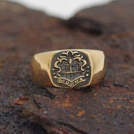 【送料無料】[dagdart MOCHA] pledge ring 10KゴールドリングDAgDART DR-274G 【楽ギフ_包装】 971292