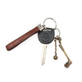 キーリングホルダーキーホルダーゴルフアイアン×ボール真鍮DAgDARTダグダートMS-044【楽ギフ_包装】603033