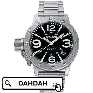 【クーポン利用で10%OFF】正規品 SEALANE シーレーン SE32SERIES/SE32-MBK メンズ腕時計 送料無料