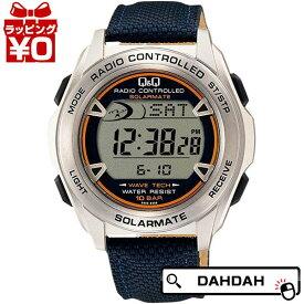 【クーポン利用で10%OFF】電波ソーラー電源 MHS7-320 CITIZEN シチズン Q&Q キューアンドキュー メンズ 腕時計 国内正規品