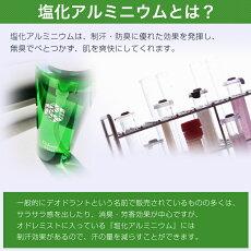 塩化アルミニウム13%配合【薬剤師プロデュースの制汗剤】オドレミスト
